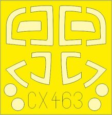 EDUARD CX463 Masking Sheet for Airfix® Kit Jet Provost T.3/T.3a in 1:72