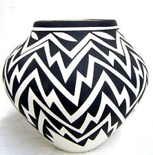 Acoma Indian Handbuilt and Handpainted Pottery by Katherine Victorino