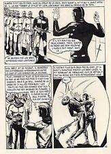 Nick CARTER (JUAN APARICI) LA CLE DU DANGER PLANCHE ORIGINALE  AREDIT PAGE 89