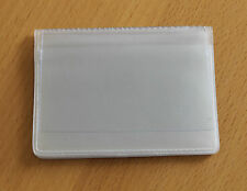 Clear Credit Card holder refill insert for card holder 10 pockets