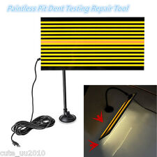 AUTO Body Paintless Pit Dent Testing Repair PDR Tool Led Line Board Light Lamp