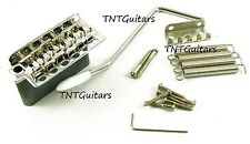 Wilkinson Strat 5+1 TREMOLO Bridge for Stratocaster, WV6 Trem System, CHROME New