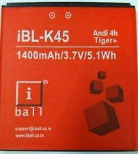 100% Original Battery For iBall iBL-K45 Andi 4h Tiger+ 1400mAh
