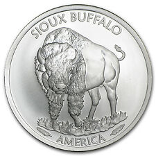 2015 1 oz Silver BU Native American Mint - $1 Sioux Indian - SKU #89108