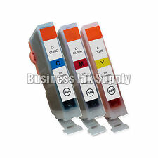 3 New Ink Cartridges For Canon CLI8 CLI-8 Pixma MP830