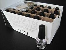 OPI GWEN Mini RAPIDRY Rapid Dry, Glossy Top Coat 24-pc Polish Gift Set 1/8oz NIB