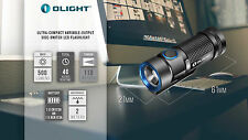Olight S1 Baton LED Flashlight 500 Lumen Compact EDC Use 1x CR123 or RCR123, S10