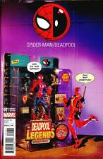 Spider-Man Deadpool #1 Printing Error Photo Action Figure Variant Comic Book
