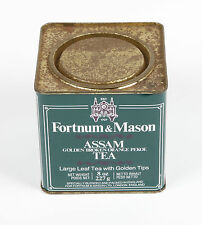 Fortnum and Mason Assam Tea Tin Empty collectable