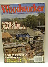 Woodworker Magazine. June, 1989. Volume 93, number 6. Gateleg Table. Turned Box.