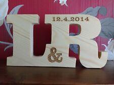 Installazione libera grande in legno incise le lettere di Pino regalo personalizzato