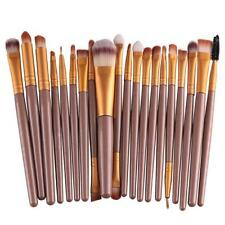20 pcs Maquillaje Cepillo Set tools Make-up Toiletry Kit Wool Make Up Brush ES