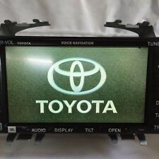 02-04 TOYOTA CAMRY NAVIGATION DISPLAY VOICE COMMAND UNIT