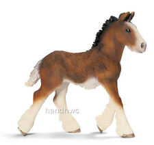 Schleich 13736 Shire Foal Draft Horse Model Toy Figurine Gift -NIP