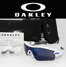 Brand New OAKLEY Radar Path Polished White / Ice Iridium Sunglasses 09-766