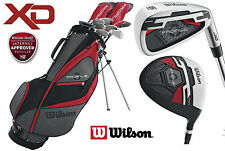 Wilson Profile XD Mens Complete All Graphite Golf Package Set Deluxe Stand Bag