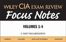 NEW - Wiley CIA Exam Review Focus Notes (Wiley Cia Exam Review (4 Volume Set))