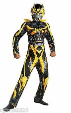 Transformers BUMBLEBEE Muxcle Costume New Size 7-8 w super reflective patch
