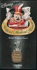 Magical Musical Moments #96 World Without Fences Disney Pin 18081
