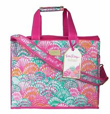 LILLY PULITZER Insulated Party Cooler OH SHELLO EVA-, Phtha- Travel Tote Bag NEW