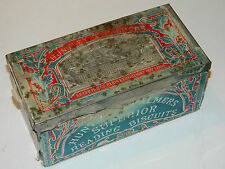 Huntley Palmers Biscuit Tin LONDON ancien BOITE box EXPOSITION UNIVERSELLE PARIS