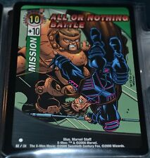 All Or Nothing Battle # 82/131 X-Men Trading Playing Cards Games TCG Xmen MINT