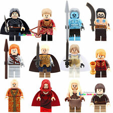 12 Sets Minifigures Game of Thrones Ice and Fire Series fits Lego Building Toys
