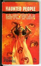 HAUNTED PEOPLE by O'Donnell rare British Digit horror occult gga pulp vintage pb