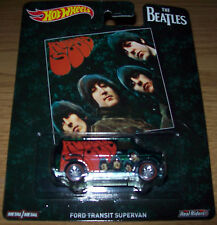 2017 HOT WHEELS - THE BEATLES - FORD TRANSIT SUPERVAN - POP CULTURE - NEW