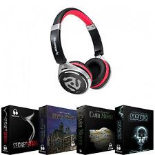 Numark HF150 Collapsible DJ Headphones - Also includes FREE Hip Hop Samples!
