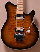 Ernie Ball Music Man Axis PDN in Vintage Tobacco Burst w/ Matching Headstock