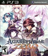 Record of Agarest War Zero - Standard Edition, (PS3)