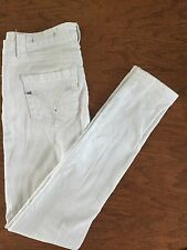 VIGOLD Skinny Jeans Pants White Woman's Juniors size 0/25 Sequins Back Pockets