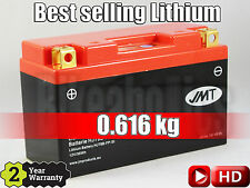 Best selling LITHIUM battery - YT9B-FP +100% CCA, 70% less weight, 1on1 replace