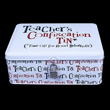 Teacher's Confiscation Tin Gift Ideas For Teachers For Birthdays & End of Term