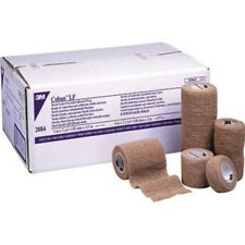 "Coban 3M Self Adherent Wrap Bandage Sports Tape 4"" Case 18 Rolls"