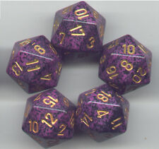 NEW RPG Dice Set of 5 D20 - Speckled Hurricane