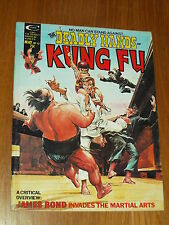 DEADLY HANDS OF KUNG FU #12 VF (8.0) MAY 1975 CURTIS US MAGAZINE JAMES BOND~