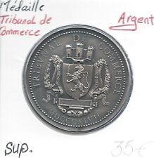 MEDAILLE FRANCAISE - TRIBUNAL DE COMMERCE - 1847 - ARGENT - Qualité: SUP