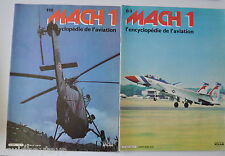 MACH 1 Encyclopedie de l'Aviation #83,118 French Magazine 1980s Planes