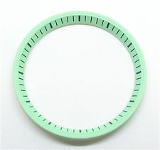 Lume Green SEIKO 7002 Chapter Ring (minute track- mod parts) Brand New