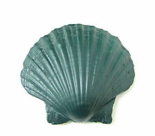 Large Dark Green Sea Shell Hair Clip Beach Ariel Little Mermaid Boho Vintage 87