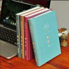 """365 v.2"" 1pc Any Year Hard Cover Planner Diary Agenda Scheduler Study Notebook"