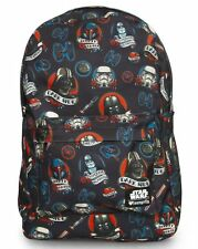 NWT Loungefly Star Wars Darth Vader Dark Side Tattoo Print Backpack