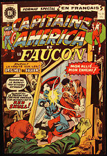 CAPITAINE AMERICA ET LE FAUCON - EDITIONS HERITAGE - 1974 - No.46 - BD - FRENCH