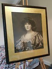 Original Frederick Miller Mezzotint Portrait -  Lorna Doon - Robert Dunthorne