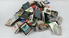 Vintage bulk lot 100+ match boxes/books lot 6