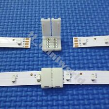 20x led-to-led Connector 4p for 10mm width RGB 5050 led strip