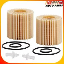 2 TOYOTA Oil Filter For Avalon Camry Highlander Rav4 Sienna Venza 2.5L 2.7L 3.5L