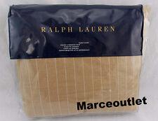 Ralph Lauren Beckett Camel Haberdashery FULL / QUEEN Duvet Cover